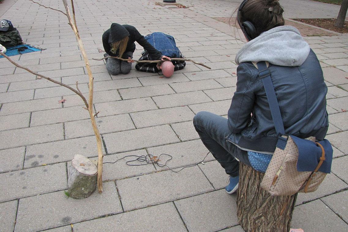 RÛE, 2014. Parc des Faubourgs. © DARE DARE